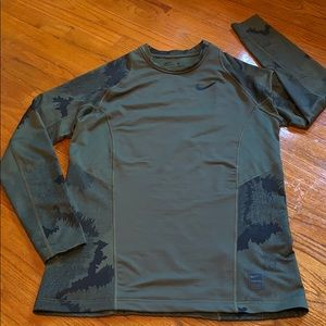 Nike Pro Hyperwarm Fitted Compression Shirt.